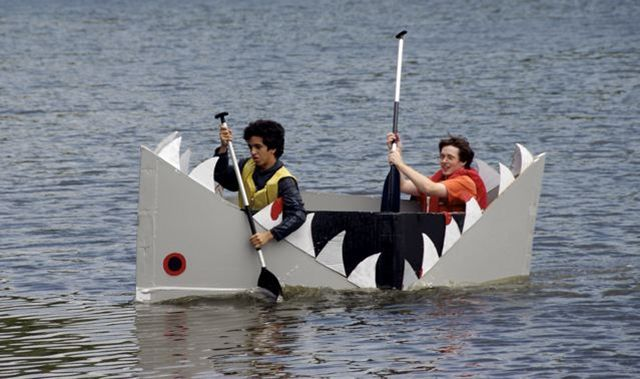 free cardboard boat designs | Description Cardboard boats 38.png