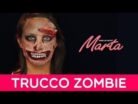 Come truccarsi per Halloween   Make-up Zombie   Marta Make-up Artist