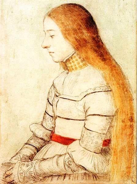 Картинки по запросу длинные  волосы в живописном портрете
