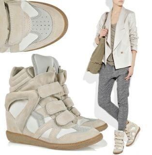 Sneakers con zeppa, in o out? Ecco come abbinarle, foto