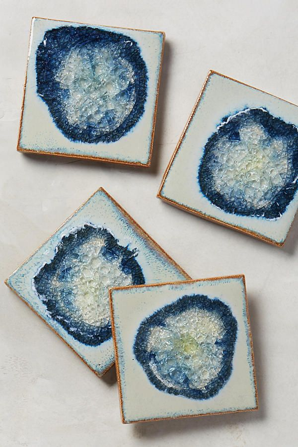A great gift list item.  These are so beautiful and special looking - they would add a great soft edge on that room of hard lines.  And serve a valuable purpose as well