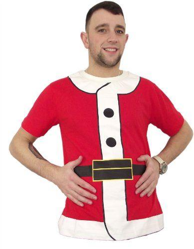 Mens Womens Unisex Xmas Christmas Jumper Santa Outfit T-Shirt