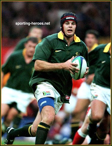 Johan Erasmus - South Africa - South African Caps 1997-01