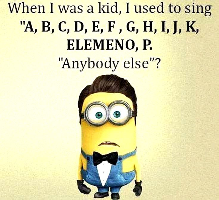 Hilarious Memes Funny Minion Happy Birthday Song In 2020