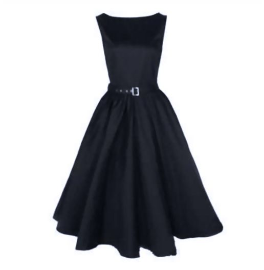 Black Made To Order Retro 50s Pinup Girl Rockabilly Style