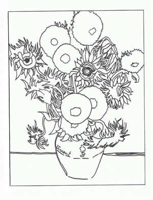 Art appreciation coloring pages artsy Pinterest