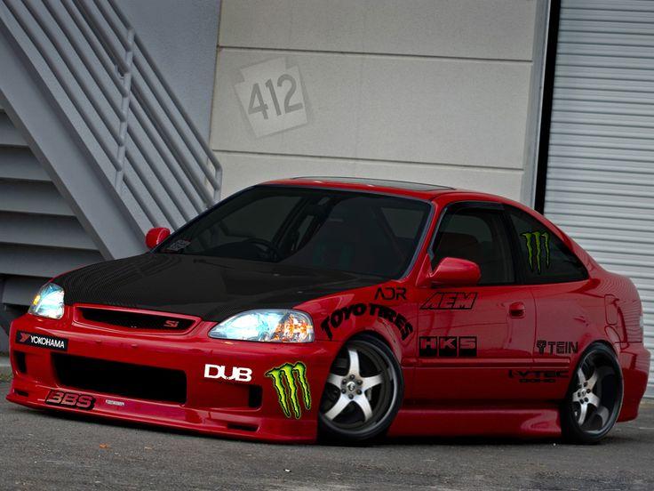 Honda Civic 2000 Modified HD Wallpaper - http://wallucky ...