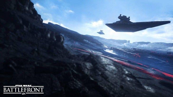 Download Star Wars Battlefront Starship Game Art 1920x1080