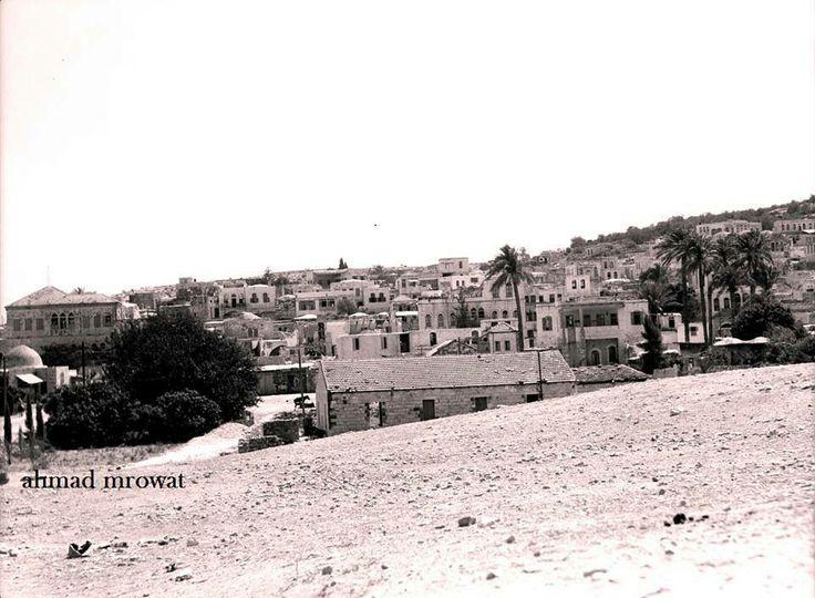 مدينة جنين - فلسطين 1930م The City of jenin - Palestine 1930 m