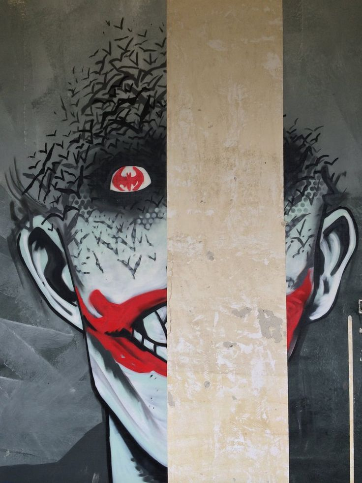 61 Fabulosos graffitis de Batman encontrados en hospital abandonado