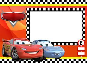 Kit para Fiestas de Cars para Imprimir Gratis.