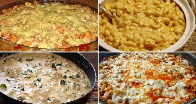 12 nejlepších receptů na chutné těstoviny, které víte rychle připravit