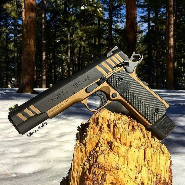 Chiappa 1911-45 cerakote!  Tag friends that proudly own a gun!  • Follow @LordOfWeapons • • Photo by @chris.stel02 • #LordOfWeapons #Weapons #Gunsdaily