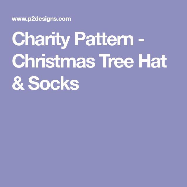 Charity Pattern - Christmas Tree Hat & Socks