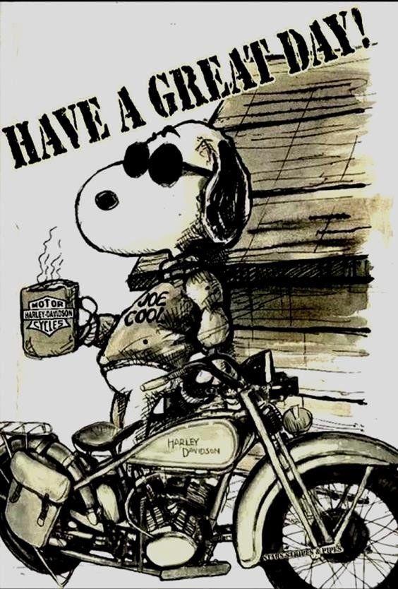 Lustige Geburtstagsbilder Für Männer Harley Snoopy Harley