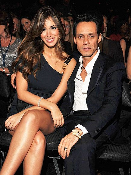 Marc Anthony + Shannon de Lima at 2012 Grammy's  ** He certainly has a 'type'!