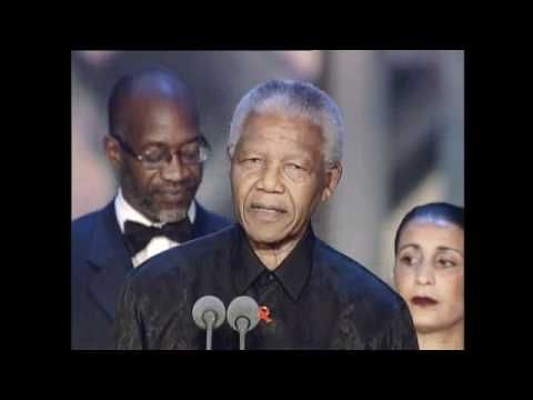 """""""Sport has the power to change the world""""  Moving words by Nelson Mandela at the Laureus World Sports Awards 2000 #inspiration #sports #motivation"""