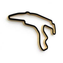 Spa Francorchamps circuit sculpture