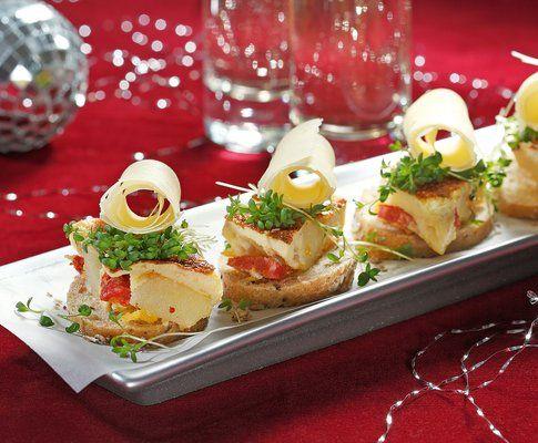 Bocconcini di frittata con rotolini di sbrinz - Ricetta - Cucina di stagione