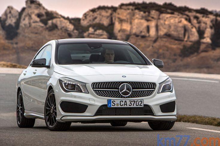 Mercedes-Benz Clase CLA CLA 250 4Matic (211 CV) Gama Clase CLA Turismo Blanco Cirro Exterior Frontal 4 puertas
