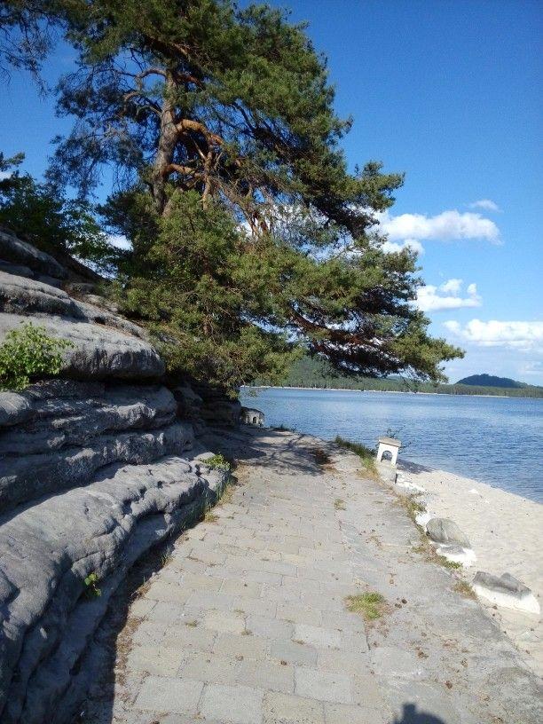 Machovo jezero,Jarmilina skala,