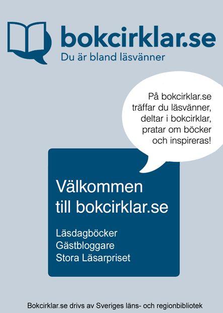 Bokcirklar.se är en plats där du kan skapa din egen bokcirkel online. Bokcirklar.se ägs och drivs av Sveriges länsbibliotek tillsammans.