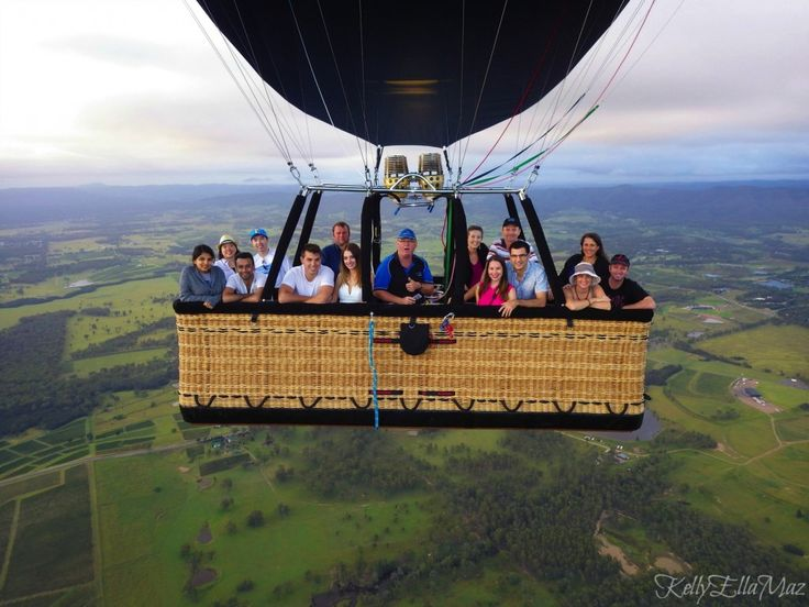 Hot air balloon ride over Australia's Hunter Valley. Great views of the sunrise, wineries and lots of kangaroos! (Click the image for more info)