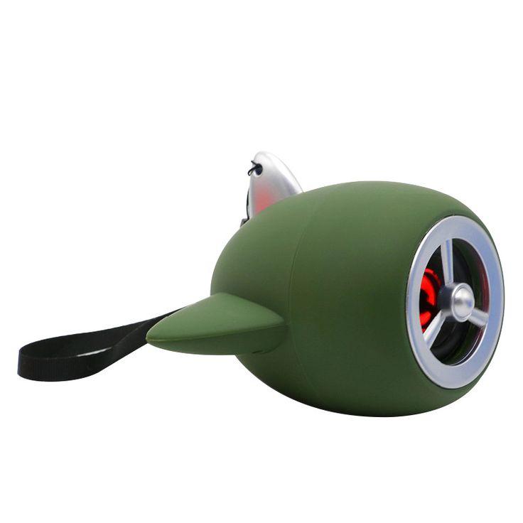 >> Click to Buy << 2017 new creative aircraft model Bluetooth speaker cartoon cute little sound mini subwoofer phone #Affiliate