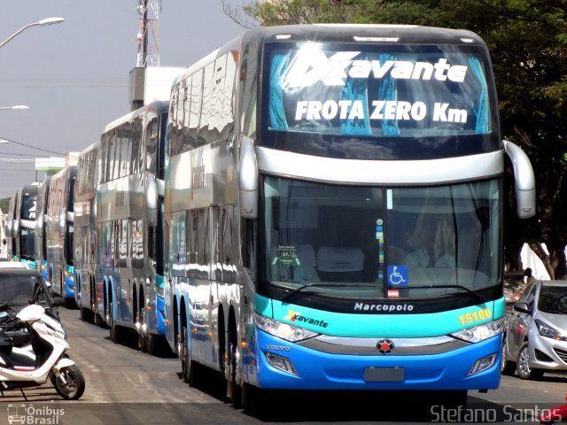 Ônibus da empresa Viação Xavante, carro 15100, carroceria Marcopolo Paradiso G7 1800 DD, chassi Volvo B450R. Foto na cidade de Primavera do Leste-MT por Stefano Santos, publicada em 12/09/2015 22:06:22.