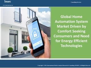 Home Automation System Market Report and Forecast  According to the report, the future of the global home automation system market looks promising with the market expected to grow at a CAGR of 8.3% during 2016-2021. The report aims at estimating the market size and future growth potential of the home automation system market based on different products, software and services, and geography. Read full report click here: http://www.imarcgroup.com/home-automation-system-market