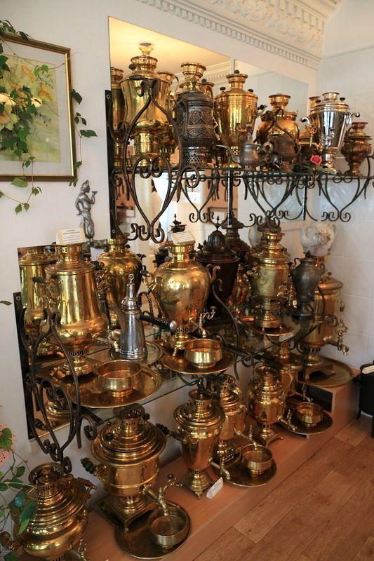 Городец: музей самоваров и история русского самовара-Museum samovars in Gorodets
