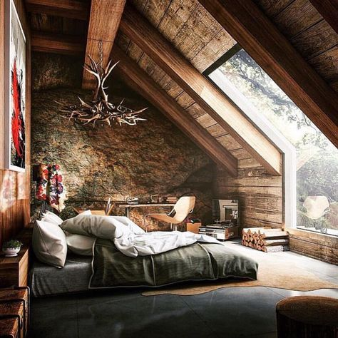 Amazing attic extension