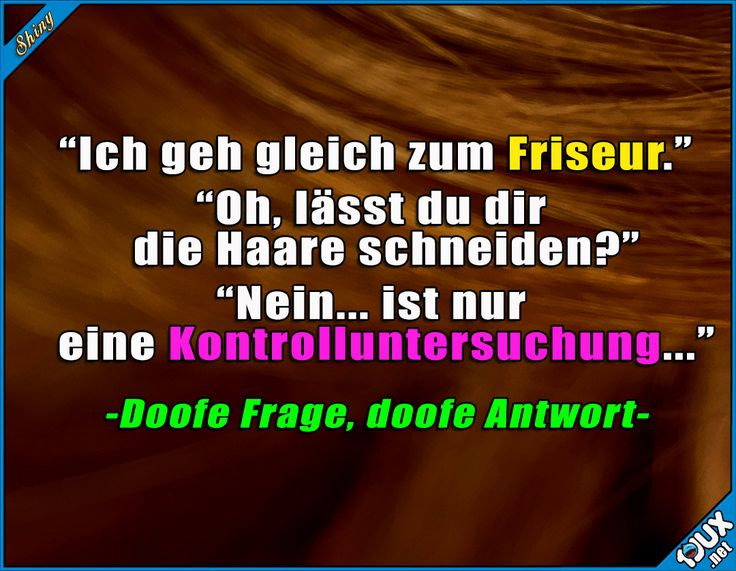 Was soll ich da sonst?! #Friseur #Haare #sowahr #Sprüche #lustigeBilder #Humor #Sarkasmus #Witze