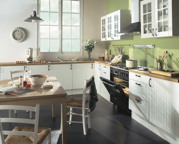 9 best Cuisine blanche pour Lina images on Pinterest Kitchen white