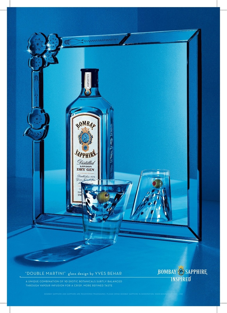 """Double Martini"" - Yves Behar (Bombay Sapphire Inspired)"