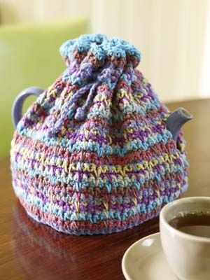 Easy Tea Cosy Knitting Pattern Free : 1000+ images about crochet Teapot cozies on Pinterest Crochet tea cosies, T...