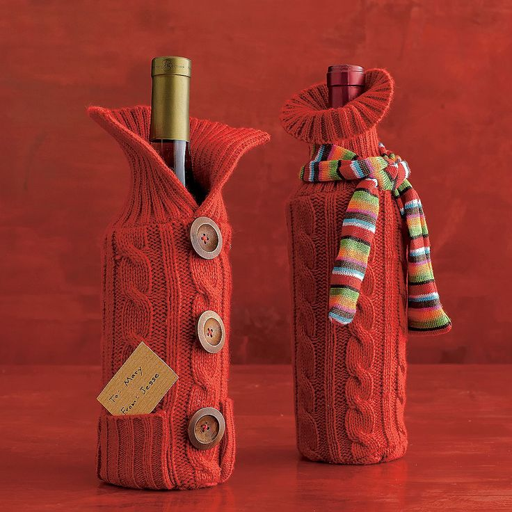 Inspiration: Great idea for a Christmas gift, find and old sweater to make this or knit up your own!