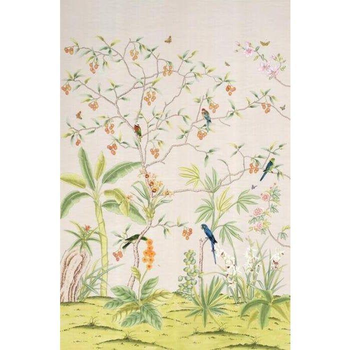 Casa Cosima Palisades Wallpaper Mural 2 Panels 72 W X 108 H In 2020 Mural Wallpaper Mural Mural Wall Art