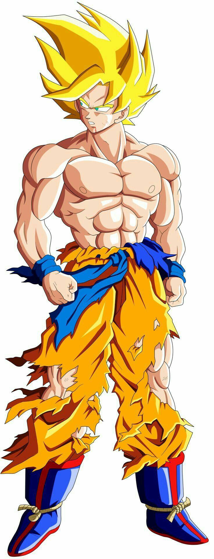 Goku Super Saiyajin 1