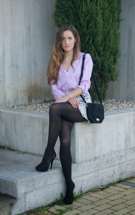 sexy nn stocking girl
