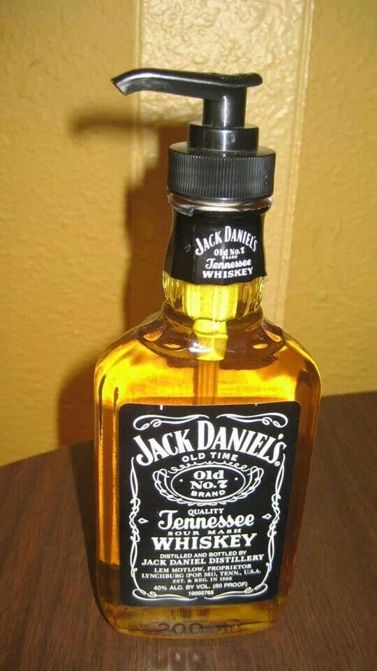 Man cave soap dispenser, ok it would need to be Jameson...