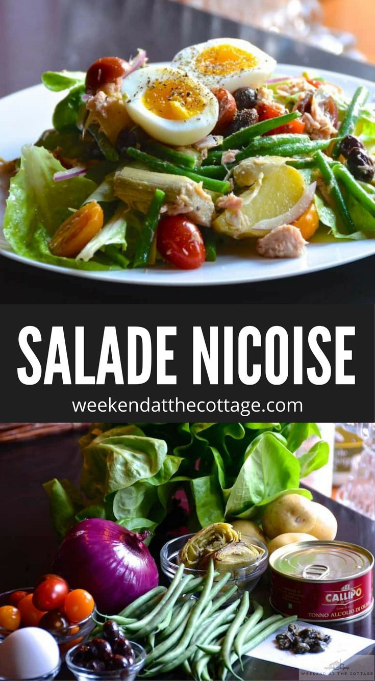 Buttery Boston lettuce tossed in a light vinaigrette with tuna and your favourite assorted vegetables – this new take on a Salade Niçoise is perfect for the New Year! Enjoy it for brunch, lunch or dinner. #salad #healthyeating #tuna