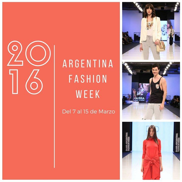 Del 7 al 15 evento de moda presenta la colección otoño -invierno:  ► Argentina Fashion Week diseñadores de Alta Costura realizan el lanzamiento de sus colecciones. La 44 edición se llevará a cabo en el Salón San Isidro del Buenos Aires Sheraton Hotel.