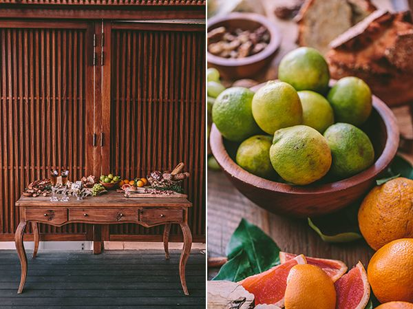Modern botanical styled shoot - Love4Weddings  #reception #table #wedding #greece