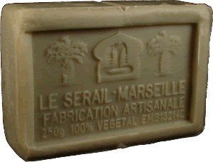 Savon de Marseille (Marseilles Soap) - Verbena (Lemongrass) Soap Bar 250g - Handcrafted pure olive oil French milled soap by Le Sérail Savon de Marseille. $10.00. Part of our French soaps collection imported directly from Marseilles. Free of sodium laureth/lauryl sulfate, phthalates, parabens, tallowate, synthetic fragrance or artificial coloring; 100% biodegradable; Not tested on animals. Handmade by the last remaining traditional soapmaker in Marseilles - Savonnerie Le Séra...