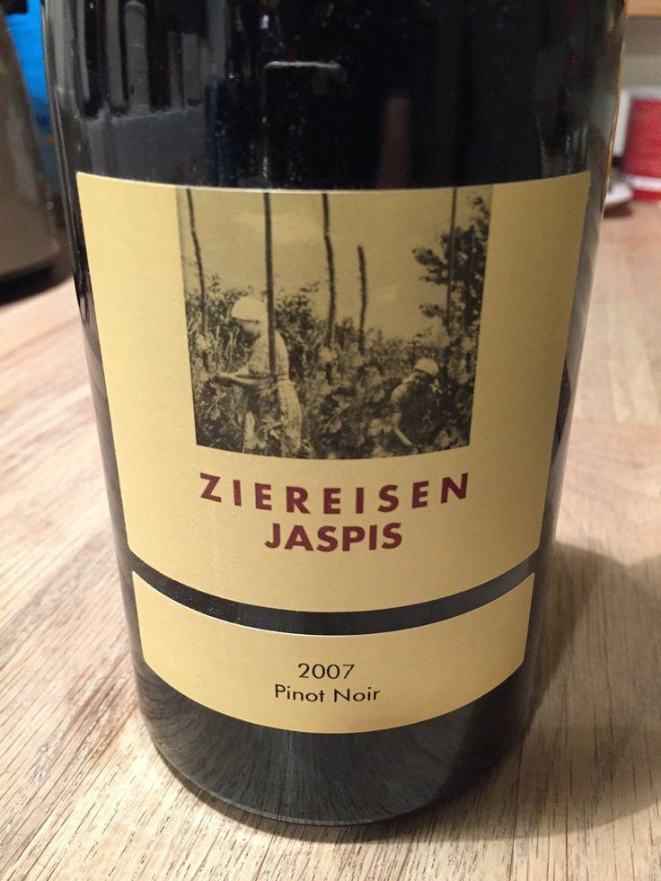 winderful german pinot noir from ZIEREISEN