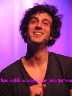 Max Boublil french comic singer