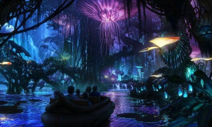 Avatar Land - Disney Park Concept