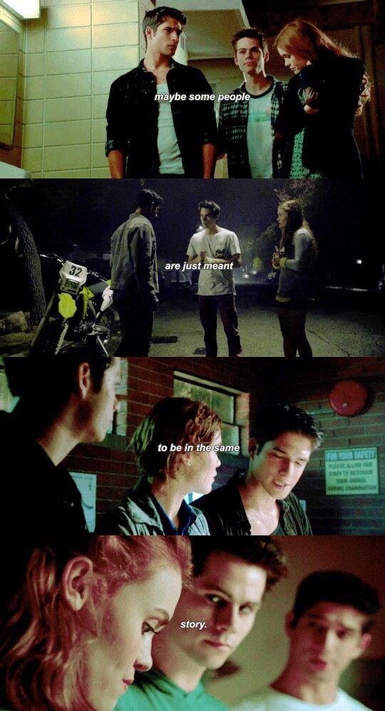 Scott, Lydia and Stiles