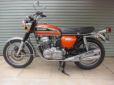 Low Mileage 1973 Honda CB750